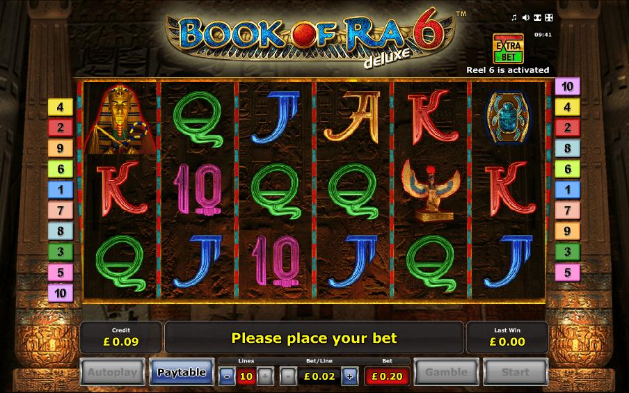 book of ra deluxe 6 screenshot