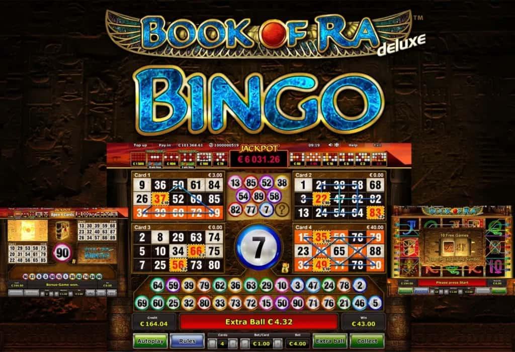 screenshot book of ra bingo