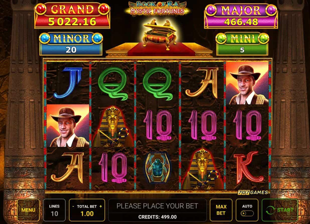 slot book of ra mystic fortune screenshot